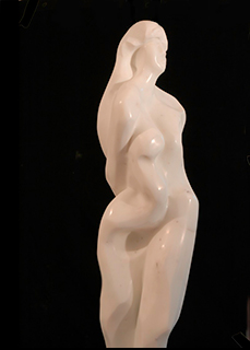 sculpture of marble