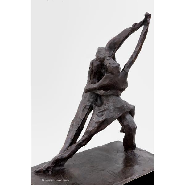 Tango passion - metal sculpture Bronze 2002